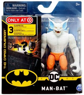 Batman: The Caped Crusader - Albino Man-Bat Action Figure