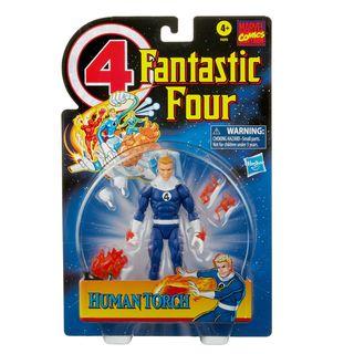 Marvel Legends Series Fantastic Four Retro Human Torch