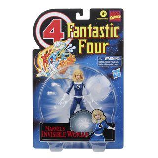 Marvel Legends Series Retro Fantastic Four Marvel's Invisible Woman