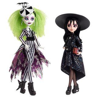 Beetlejuice & Lydia Deetz Monster High Skullector Doll 2-Pack