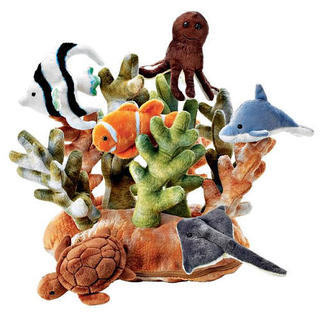 FAO Schwarz Coral Reef Habitat