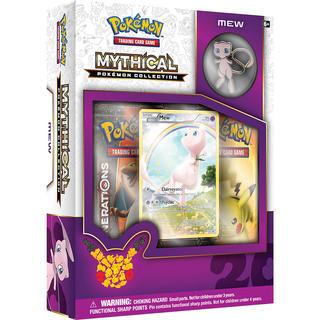 Pokemon Mythical Pokemon Collection Trading Card Game - Mew