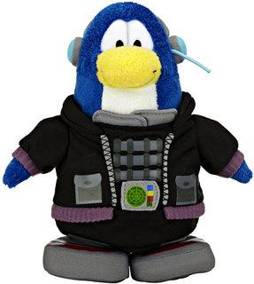 Club Penguin Plush Series 13 Tactical Agent