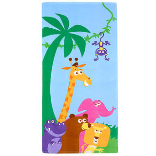Sizzlin Cool Geoffrey and Friends Beach Towel