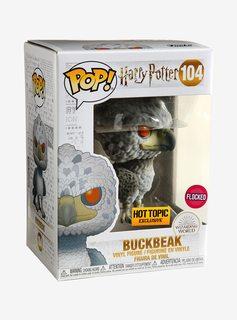 Funko Harry Potter POP! Buckbeak (Flocked)