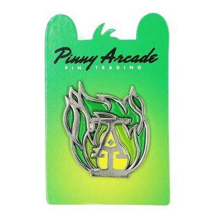 Pinny Arcade Green Flame Pin